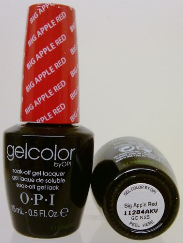 OPI Gel Color GC N25 Big Apple Red
