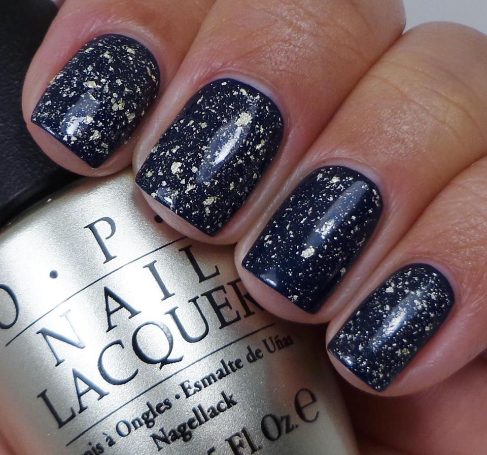 OPI Mariah Carey Pure 18K White Gold & Silver Leaf Top Coat 0.5oz ...