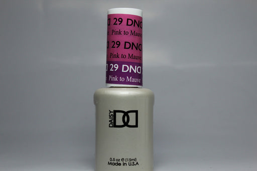 DnD Mood Change Gel Pink to Mauve 29