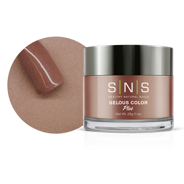 SNS Nail color dipping powder  CREAMY MAUVE  300  1 OZ