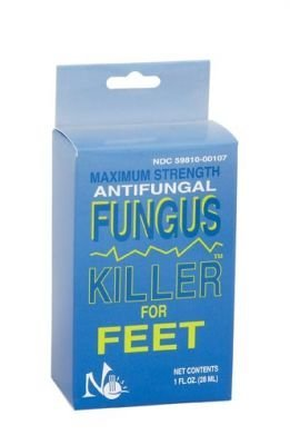 Antifungal Fungus Killer for Feet by No Miss Ltd
