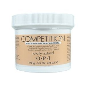 OPI competition powder totally natural 3.52 oz  100 g AE E24  np2