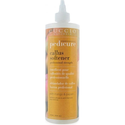 CUCCIO Professional Pedicure  Professional Strength Callus Softener with Mango & Papain 472ml 16oz