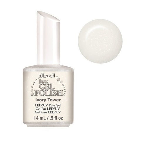 IBD Just Gel Polish Ivory Tower 56662 .5 oz