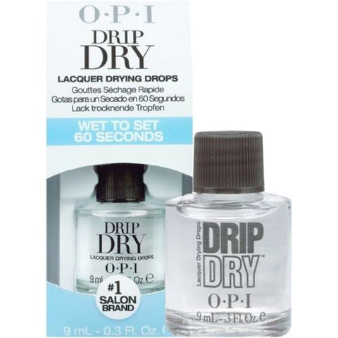 OPI #01103- Drip Dry Lacquer Drying Drops - 0.3oz / 9ml ---Ready Ship---