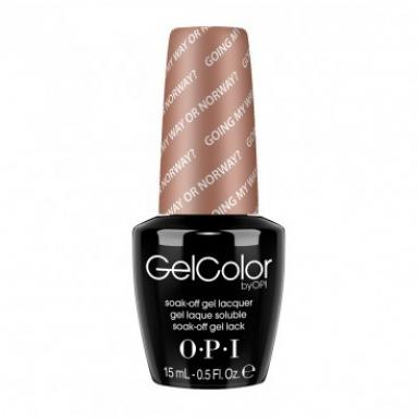 OPI Gel Polish GC N39 Going My Way or Norway?