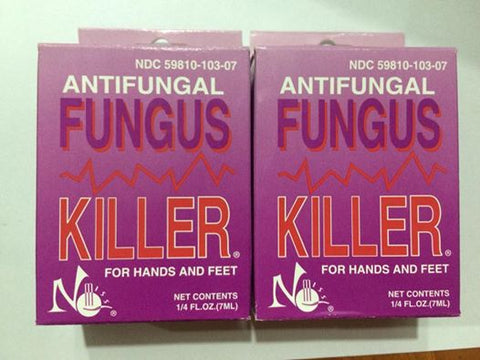 Antifungal Fungus Killer 1/4oz/7ml - 2pcs