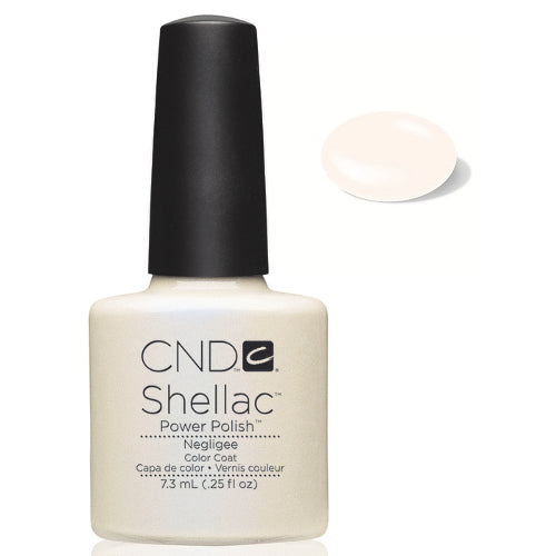CND Shellac Power Polish NEGLIGEE #40502 .25 oz