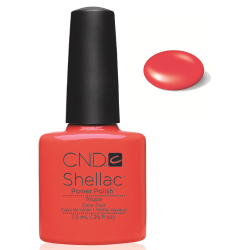 CND Shellac Power Polish TROPIX #40505 .25 oz