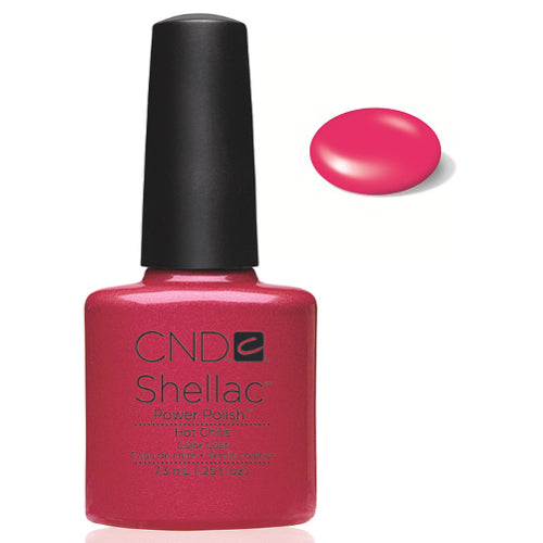 CND Shellac Power Polish HOT CHILIS #40507 .25 oz