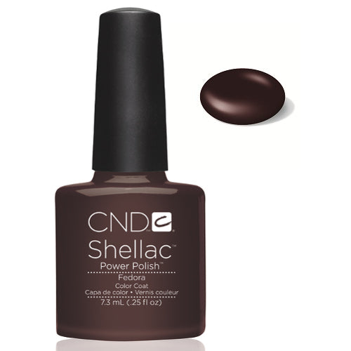 CND Shellac Power Polish FEDORA #40510 .25 oz