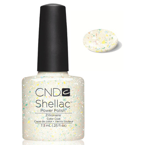 CND Shellac Power Polish ZILLIONAIRE #40527 .25 oz