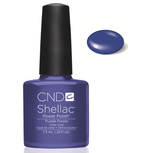 CND Shellac Power Polish PURPLE PURPLE  #40530 .25 oz