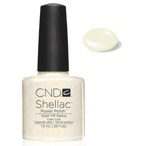 CND Shellac Power Polish GOLD VIP STATUS #40536 .25 oz