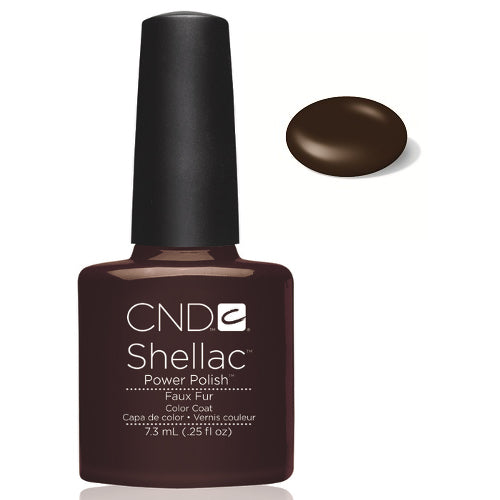 CND Shellac Power Polish FAUX FUR #40546 .25 oz