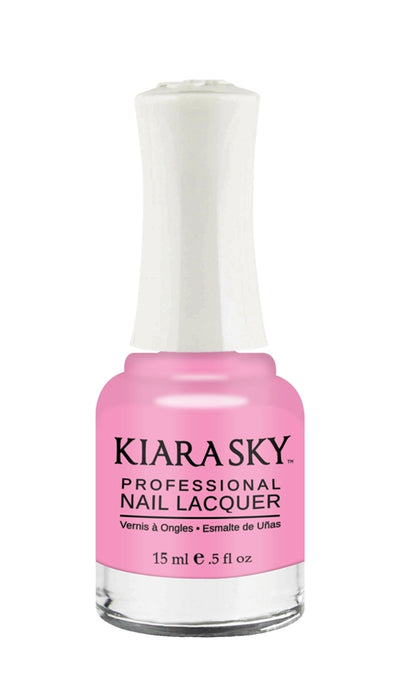 KIARA SKY NAIL POLISH LACQUER- YOU MAKE ME BLUSH N405 0.5oz