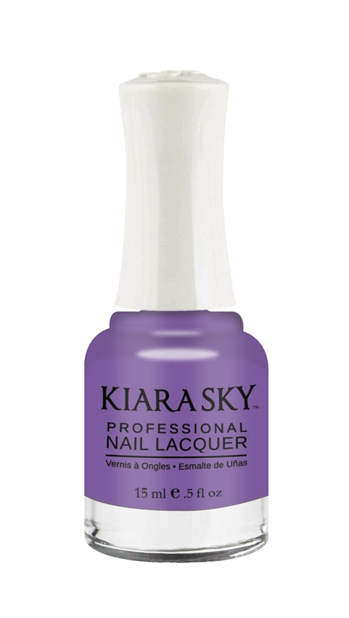 KIARA SKY NAIL POLISH LACQUER- CHINCHILLA N410 0.5oz