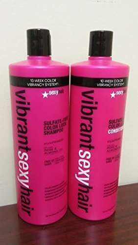 Vibrant Sexy Hair Shampoo & Conditioner Duo Set Liters 33.8oz