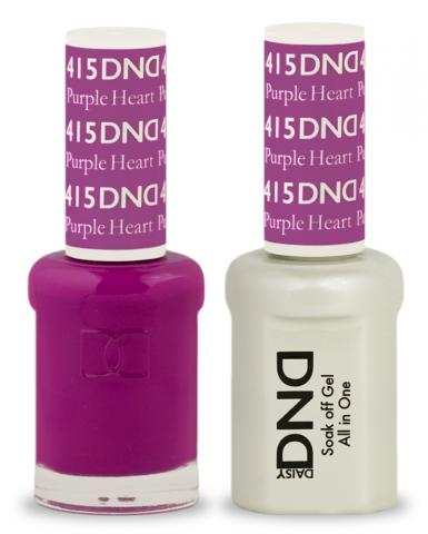 DND Gel & Lacquer 415 Purple Heart