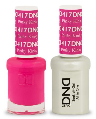 DND Gel & Lacquer 417  Pinky Kinky