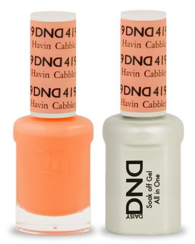 DND Gel & Lacquer  419 Havin Cabbler