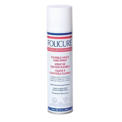 Folicure Flex Hold Aerosol Hairspray, 10 Ounce