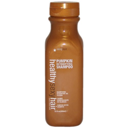 Healthy Sexy Hair Pumpkin Detoxifying Shampoo 10oz