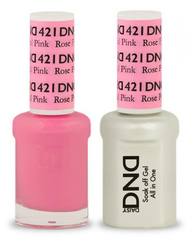 DND Gel & Lacquer 421 Rose Petal Pink