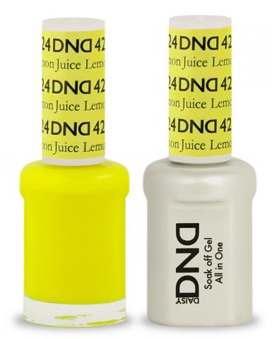 DND Gel & Lacquer  424  Lemon Juice