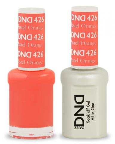 DND Gel & Lacquer 426  Pastel Orange