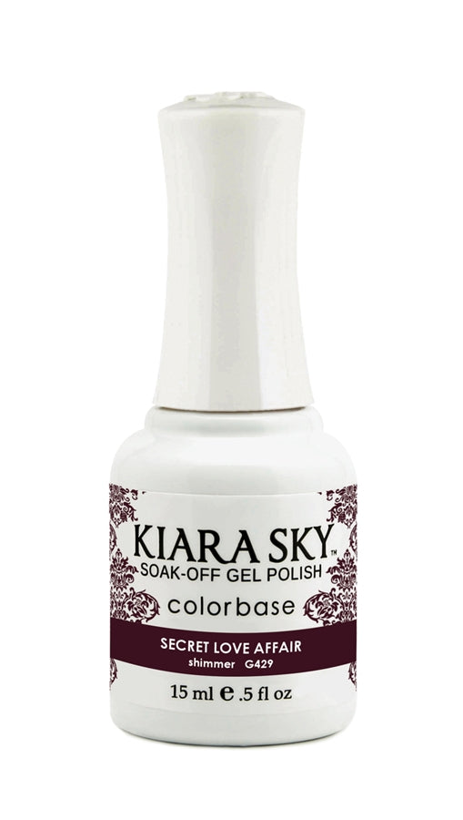 KIARA SKY GEL POLISH - G429 SECRET LOVE AFFAIR
