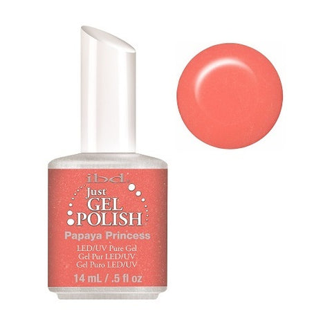IBD Just Gel Polish Papaya Princess 56672  .5 oz