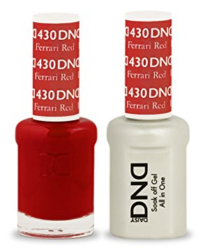 DND Gel & Lacquer  430  Ferrari Red