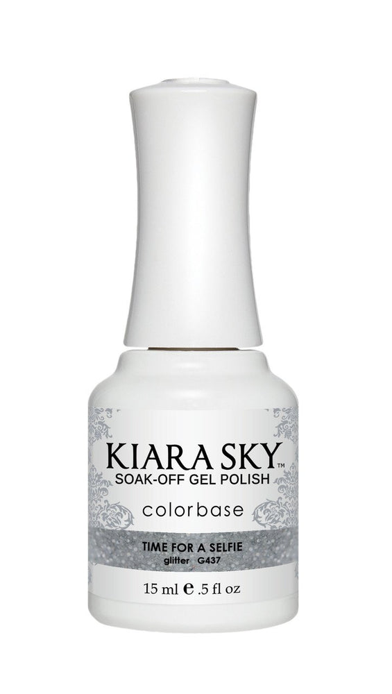 KIARA SKY GEL POLISH - G437 TIME FOR A SELFIE