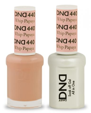 DND Gel & Lacquer  440 Papaya Whip