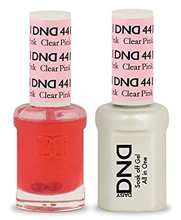 DND Gel & Lacquer 441 Clear Pink