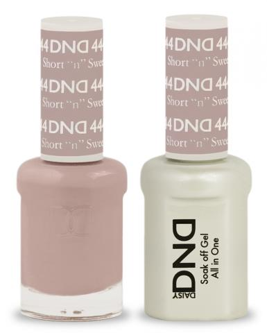 DND Gel & Lacquer 444  Short 'N' Sweet