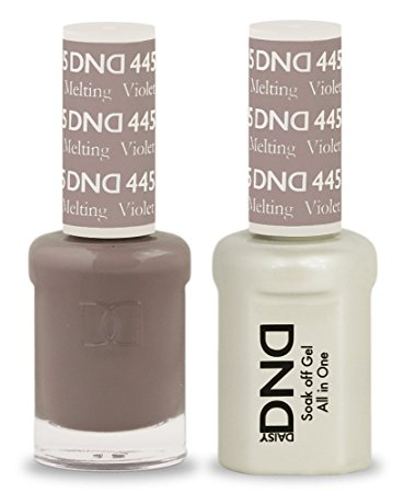DND Gel & Lacquer 445 Melting Violet