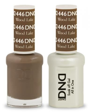 DND Gel & Lacquer 446 Wood Lake