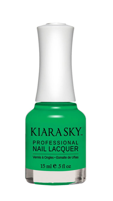KIARA SKY NAIL POLISH LACQUER - GREEN WITH ENVY N448 0.5oz
