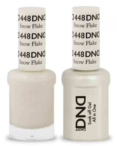 DND Gel & Lacquer  448  Snow Flake