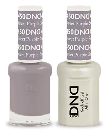DND Gel & Lacquer 450 Sweet Purple