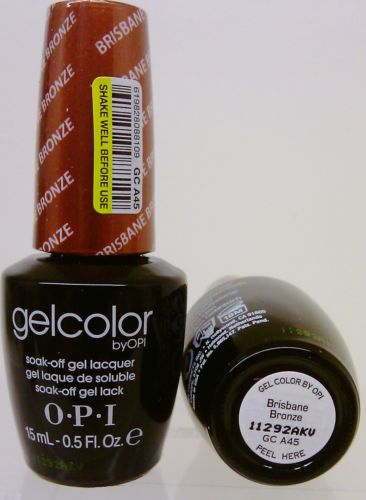 OPI Gel Color GC A45 Brisbane Bronze
