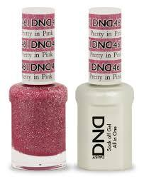 DND Gel & Lacquer 461  Pretty In Pink