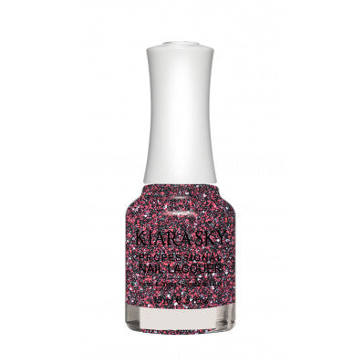 KIARA SKY NAIL POLISH LACQUER - CHERRY DUST N464 0.5oz
