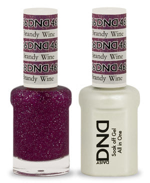 DND Gel & Lacquer 466  Brandy Wine