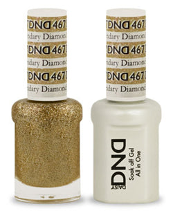 DND Gel & Lacquer 467  Legendary Diamond