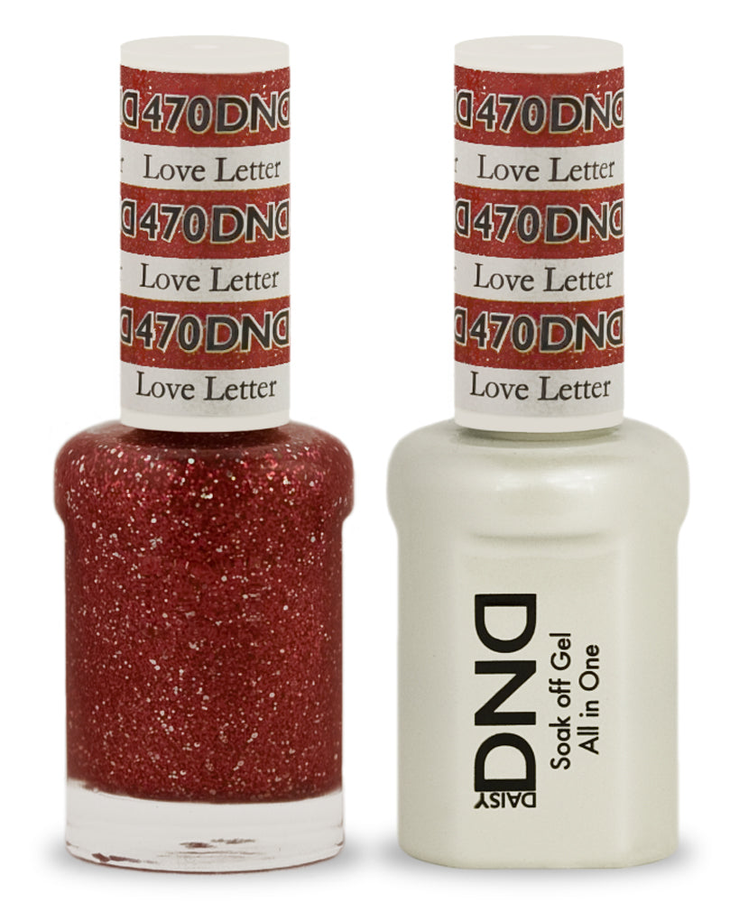 DND Gel & Lacquer 470  Love Letter