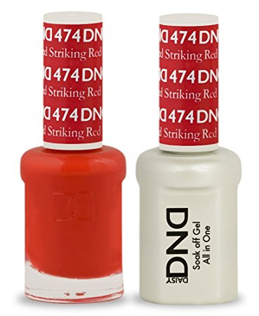 DND Gel & Lacquer 474  Striking Red