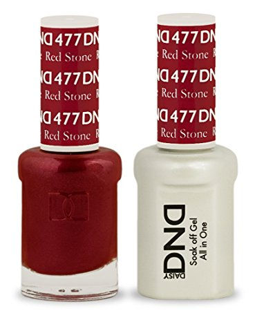 DND Gel & Lacquer 477  Red Stone